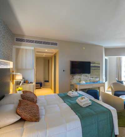 Junior Suite at Leonardo Laura Beach & Splash Resort with inland view