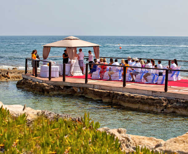 Leonardo Plazza Cypria Maris Beach Hotel & Spa - Wedding Ceremony in town or at the hotel